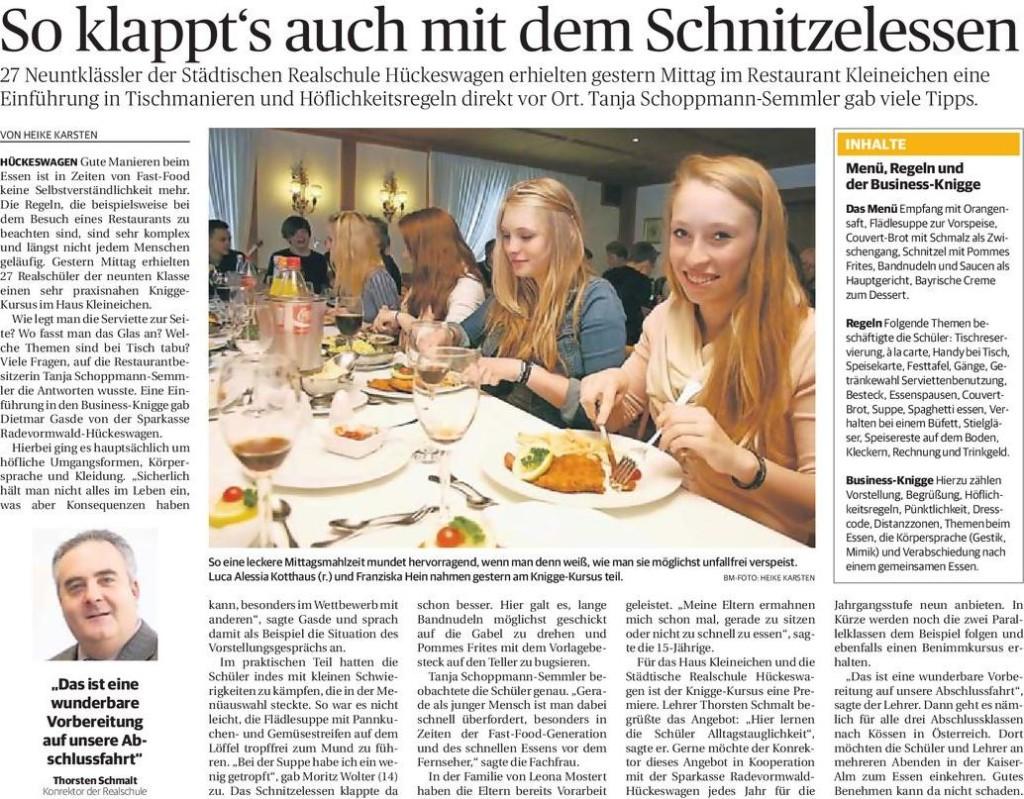 Artikel der Rheinischen Post