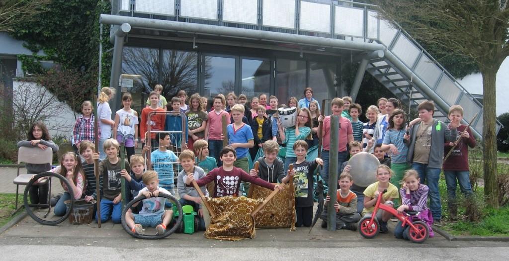 14 Säcke Müll fanden die Kinder auf den Straßen von Hückeswagen