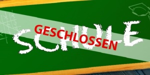 Schule-geschlossen